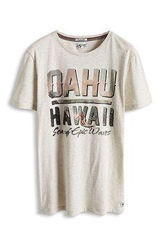 www.davidemartini.ink for Esprit / Jersey Print T-Shirt aus Baumwoll-Mix