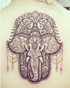 ganesh hamsa tattoo - Google Search                                                                                                                                                      More