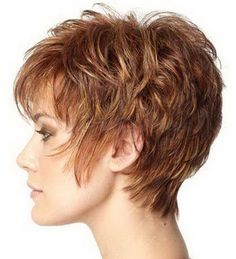 Hair Styles For Women Very Short Haircuts for Thick Wavy Hair // # Thick # for … Very Short Haircuts, Cute Hairstyles For Short Hair, Hairstyles Haircuts, Curly Hair Styles, Pixie Haircuts, Wedge Hairstyles, Classic Hairstyles, Medium Hairstyles, Hairdos