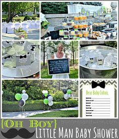 Bonfires and Wine: Oh BOY! Little Man Baby Shower