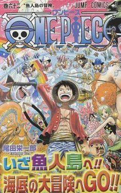 One Piece, Volume 62:  Adventure on Fish-Man Island