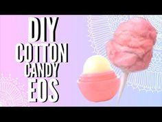 DIY COTTON CANDY EOS LIP BALM - YouTube