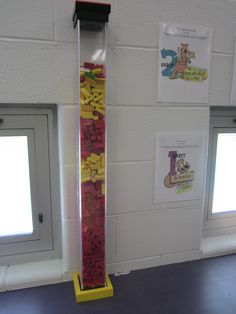 Marble Jar?  How about a LEGO tower instead?  Kids love it and we're near the top for a BIG celebration!