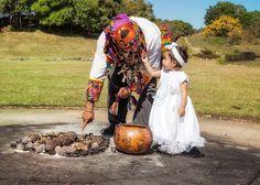 Baby and Tata - Mayan Baptism Ceremony - Guatemala City   Flickr
