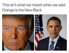 Orange is the new black???