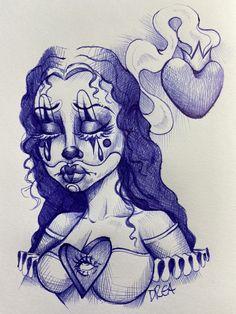 Arte Cholo, Cholo Art, Chicano Art Tattoos, Chicano Drawings, Cool Tattoo Drawings, Cute Drawings, Small Canvas Art, Diy Canvas Art, Crane