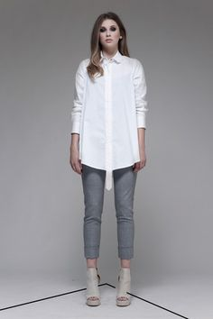 Taylor 'Incision' Collection, Summer 13/14   www.taylorboutique.co.nz Taylor - Ensemble Shirt