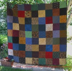 Reversible Flannel Quilt Finished | The Curious Quilter