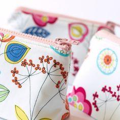 Spring Flower Make-Up Bag, £12 from Beledien Handmade on WowThankYou - so pretty!
