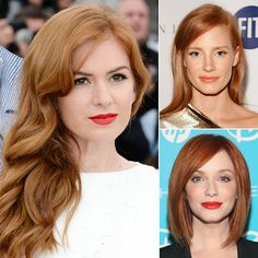 We've already seen the fiery hair color trend take off for Summer, but these starlets take the prize for the best (red) hair in Hollywood. Whether natural or bottle-born, red is the rare shade that isn't easily overlooked. From strawberry to chestnut, and everything in between, click through to see our favorite redheads, and perhaps you'll get inspired to go crimson this Fall.