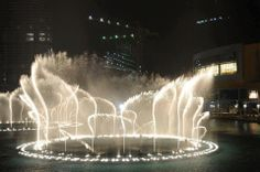 amazing view for Dubai fountain. #fountain #dubai #uae #nature #bestplacestovisit #placestosee