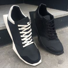 #RICKOWENS X #ADIDAS ! #brownsfashion #menswear #newin #instore and online #AW14 #sneakers