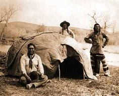 Great Plains Structures and Architecture - Great Plains Sweat Lodges. Similar to our modern day steam bath.