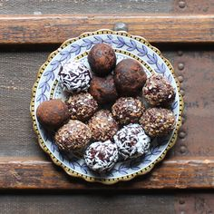 Beetroot Chocolate Protein Balls, from Jamie Oliver