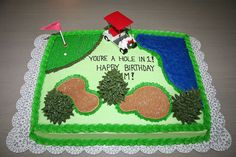 Golf Course Cake by Jens Creations, via Flickr