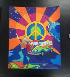 Peter Max Art | Peter Max by GiNg3r295