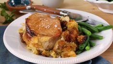 Pork Chop Recipes, Sausage Recipes, Cooking Recipes, Ham Recipes, Dinner Recipes, Brown Sugar Pork Chops, Glazed Pork Chops, Pork Dishes, Tasty Dishes