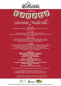 Italia Medievale: Sabato 29 marzo 2014 Giornata Medievale alla Cascina Guzzafame