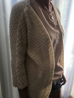 Made to order/ handmade knitwear /blanche