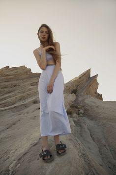 Celeste Tesoriero Spring 2015 // Shot by Juliette Cassidy in the LA desert Styling by Mar Peidro Model Alexis Kapaun @ LA models Makeup Dianne Esteves Vieriera
