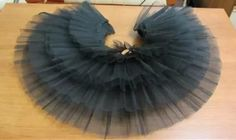 how to make a layered and long tulle skirt Baby Dress Tutorials, Sewing Tutorials, Tutus For Girls, Little Girl Dresses, Sewing For Kids, Baby Sewing, Robes Tutu, Fashion Sewing, Kids Fashion