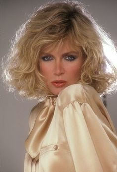 Donna Mills.....looks even better now!  Love her hair