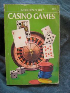 Gambling Golden Guide 1973 Casino Games Book Maximize Odds craps 21 roulette keno baccarat twenty one betting drinking on Etsy, $19.50