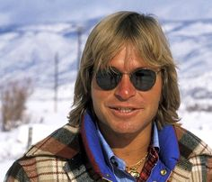 John Denver on December 21, 1977 arrives at the Aspen/Pitkin County Airport in Aspen, Colorado. (Photo by Ron Galella/WireImage)