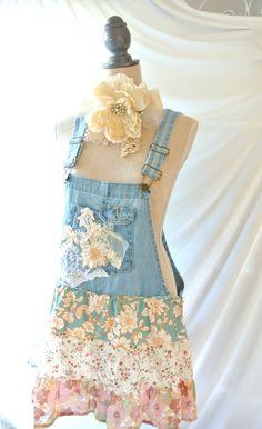 Summer boho festival shirt romantic shabby by TrueRebelClothing, $68.00