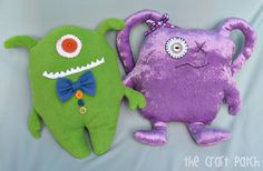 Tutorial Ugly Dolls (easy)