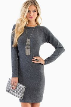 Sweater dress-looks like I need a new necklace. My sweater dresses need some dressing up!