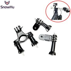 >> Click to Buy << SnowHu for GoPro accessories Bike Motorcycle Handlebar Seatpost Pole Mount  3 Way Adjustable Pivot Arm for Gopro Hero 5 4 3 GP02 #Affiliate