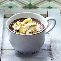 Heiße Schokolade 6 x anders - heisse-schokolade-banane  Rezept
