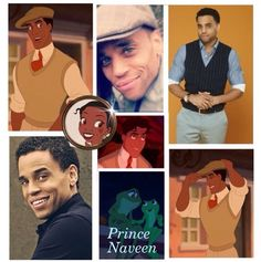 Michael Ealy as prince Naveen! Perfecto.