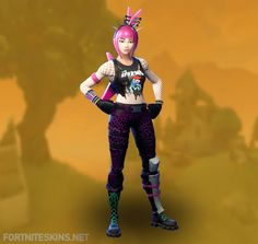 Power Chord Outfit in Fortnite Battle Royale.