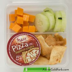7 Ideas for 7-Minute School Lunches with plenty of protein & fiber 7) Traditional Dipper (click on pin to see all 7)