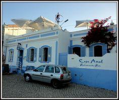 Casa azul da Aldeia da Cacela Velha (Algarve/Portugal)