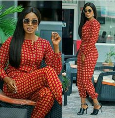 The Set Description: ▪ Ankara fabric print. ▪ 100% cotton print/fabric. All garments are custom made to your exact fitting, please leave a note of your Bust, Hip and Waist Measurement before checking out. Buyers are responsible for providing accurate measurements. Kindly contact us