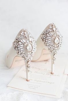 669e3d86c997 Sophisticated Southern Wedding with Pink   Gold Color Palette. Wedding High HeelsBadgley  Mischka ...