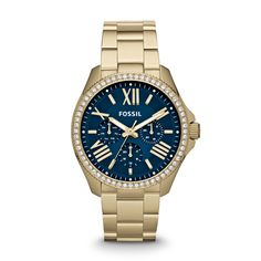 Fossil Cecile Multifunction Stainless Steel Watch - Gold-Tone
