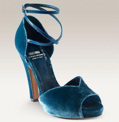 Velvet moschino heels