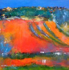An original acrylic painting on canvas l 40 x 40cm