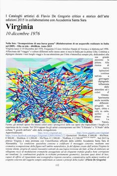 """#contemporaryart Published my work in the #catalogue """"The Masters of Color 2015"""" with #review and #quoted by Cav.Flavio De Gregorio"""