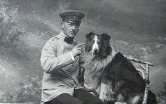 Vintage Doggy: A German and his Collie, Border Collie Pictures, Border Collie Art, Rough Collie, Collie Dog, Welsh Sheepdog, Collie Breeds, Scotch Collie, English Shepherd, Vintage Dog