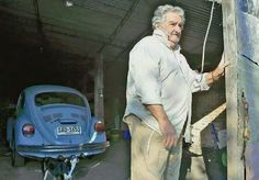 The President of Uruguay...just an ordinary man!