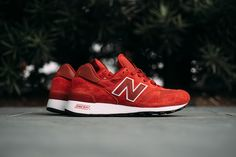 "New Balance M1300CSU ""Red"" (Made in USA) - EU Kicks: Sneaker Magazine"