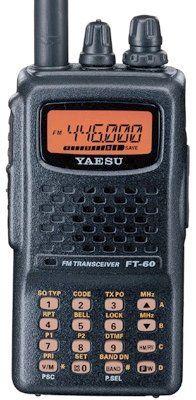 Yaesu Ft-60R Dual Band Handheld 5W Vhf / Uhf Amateur Radio Transceiver, 2015 Amazon Top Rated Two-Way Radios #CE