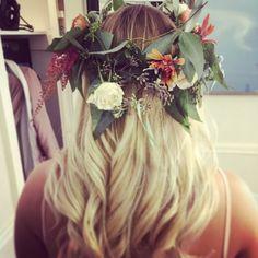 Divine boho headpiece Boho Headpiece, Wedding Events, Floral Design, Fashion, Atelier, Moda, Fashion Styles, Floral Patterns, Fashion Illustrations