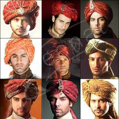 Indian Wedding Grooms Mens Turban Pagri Alladin Hat Fancy Dress Pagrhee New Gold | eBay $32.49