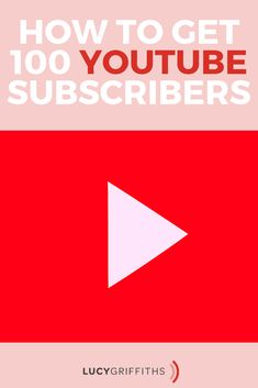 your first 100 Youtube subscribers Lucy Griffiths, How To Start A Blog, How To Get, Youtube Subscribers, Body Confidence, Blog Topics, Platforms, You Got This, The 100